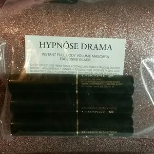 Lancome Other - Lancome Hypnose Drama Mascara bundle of 3